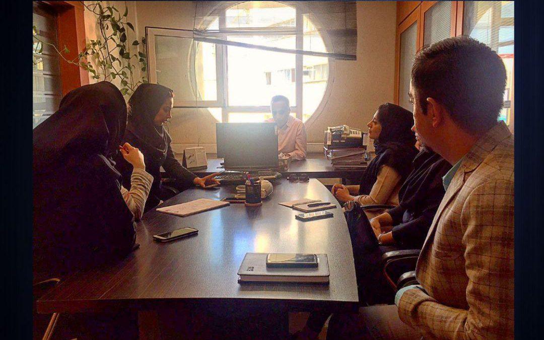 جلسهٔ کمیتهٔ ارتباطات انجمن صنفی مهندسان معمار با معاونت آموزشی سازمان نظاممهندسی ساختمان